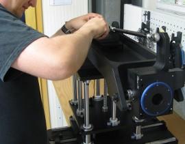 Montage de machines de précision