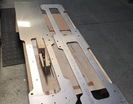 Grandes plaques aluminium